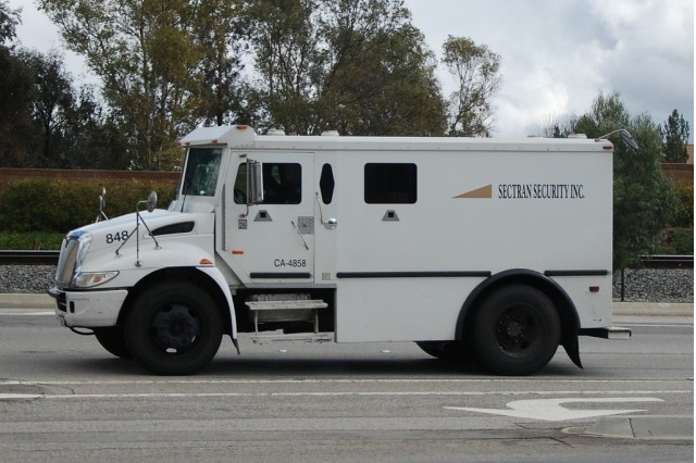 Sectran Security armored truck