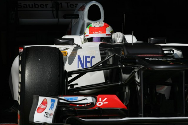 Sergio Perez - Sauber F1 Team photo