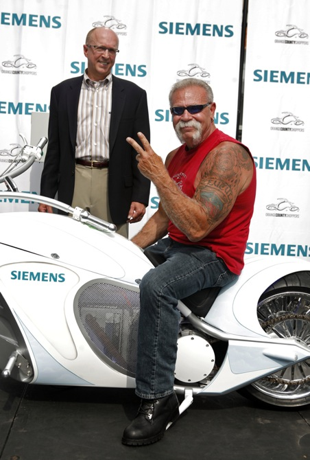 Electric Motorcycle To Be Featured On Tlc S American Chopper