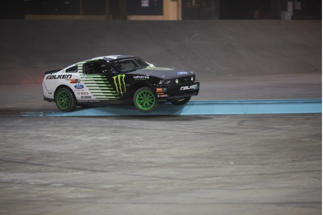 video vaughn gittin jr and rob dyrdek debut their ford. Black Bedroom Furniture Sets. Home Design Ideas