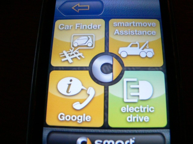 Smart Drive app, for iPhone and 2011 Smart Electric Drive #7203715