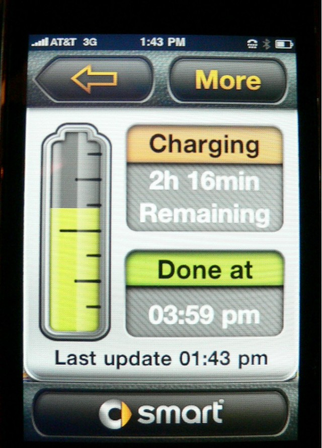 Smart Drive app, for iPhone and 2011 Smart Electric Drive #7745124
