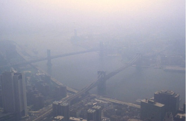 Smog in New York City