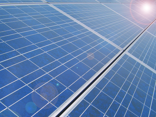 Solar Panels by Flickr user Chandra Marsono
