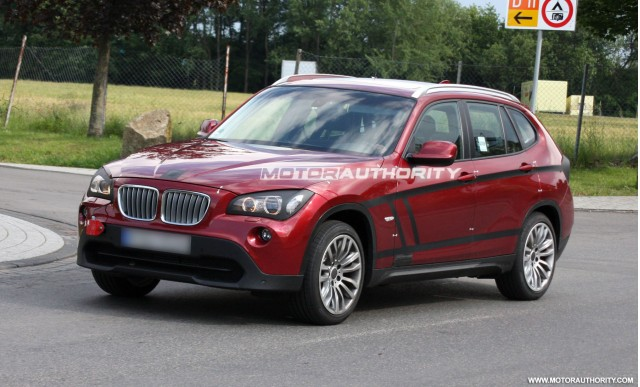 spy shots bmw x1 june 2009 003
