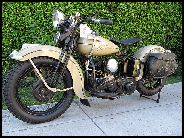 Steve Mcqueen S 1938 Harley Davidson Heads To The Auction