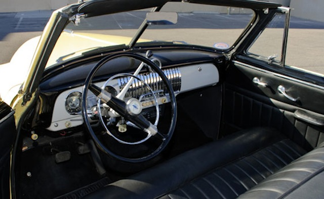 Used Car Auctions Near Me >> Image: Steve McQueen's 1951 Chevy Styleline DeLuxe Convertible - image: Auctions America, size ...