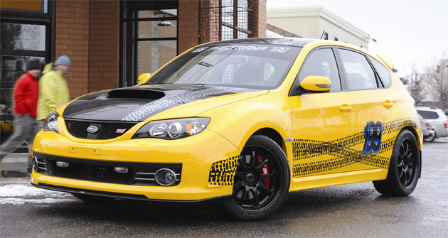The special edition WRX STI will be on display at this week's Chicago Auto Show