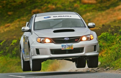 Subaru WRX STI sets new Isle of Man TT lap record
