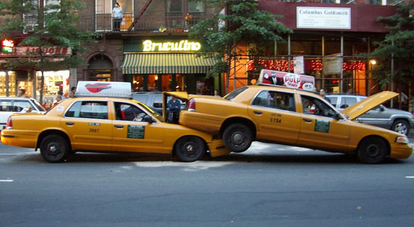 Nyc Taxi Driver Dodges 28 000 In Tolls By Tailgating