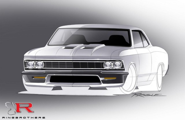 ring brothers bringing 980 horsepower chevy chevelle to sema. Black Bedroom Furniture Sets. Home Design Ideas