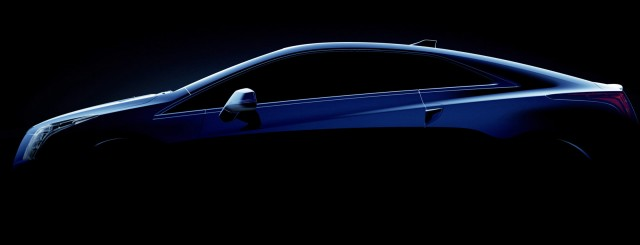 Teaser for 2014 Cadillac ELR