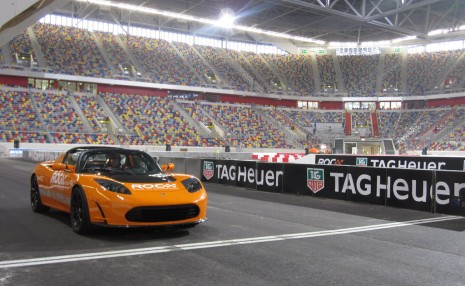 Tesla at the 2010 Race of Champions