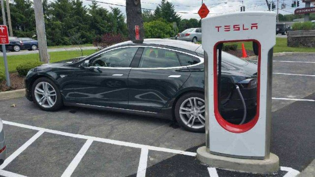 Electric Car Supercharger Stations