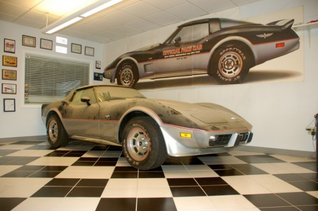 Time Capsule 1978 Corvette Indy Pace Car Sells For 50 000