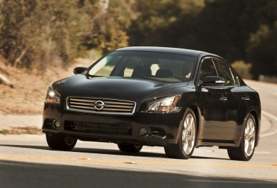 The 2012 Nissan Maxima. Image: Nissan