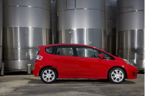The Honda Fit Sport