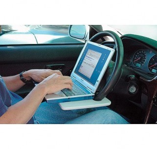 the laptop steering wheel desk from mobile office