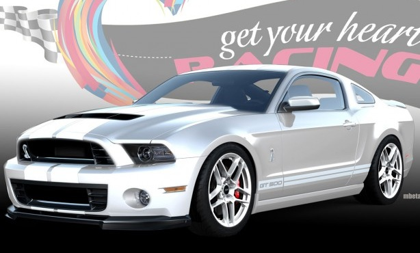 The Melvin Betancourt designed 2013 Shelby GT500
