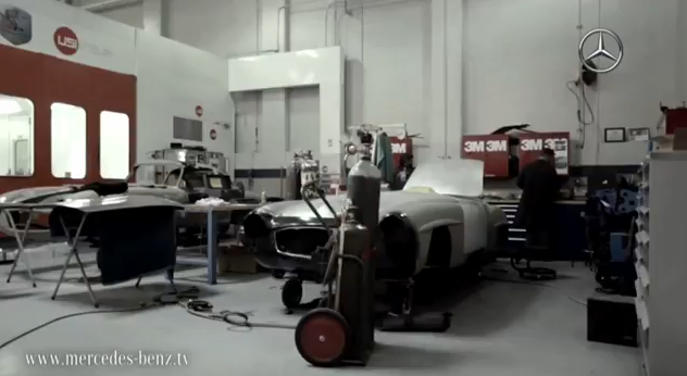 Mercedes benz classic brings the past back to life video for Mercedes benz training center