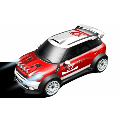 The MINI Countryman WRC Car