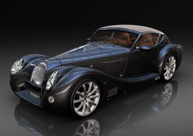 The Morgan E+ Concept. Image: Morgan Motor Company