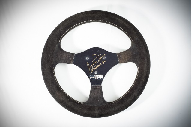 Senna S First F1 Steering Wheel Hits The Auction Block