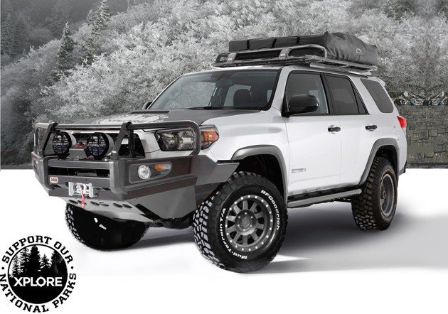 xplore beefs up the 2011 toyota 4runner. Black Bedroom Furniture Sets. Home Design Ideas