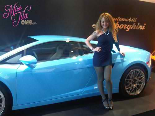 photo of Tila Tequila Lamborgini Galardo  - car