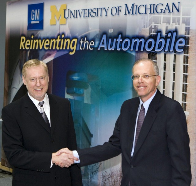 general motors and university of michigan announce institute of. Cars Review. Best American Auto & Cars Review