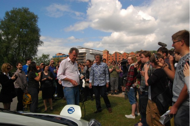 Top Gear Stage Another Electric Car Stunt #7106801