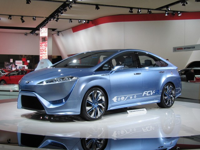 Toyota's new Hydrogen Fuel Cell Car will be able to power a house