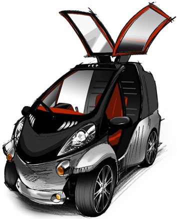 Toyota Smart INSECT communications concept