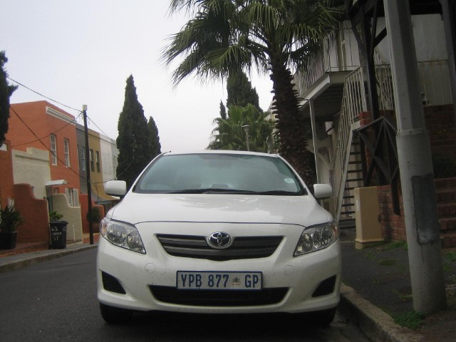 2010 Toyota Corolla sold in South Africa, shown in Die Waterkant, Cape Town #7648663