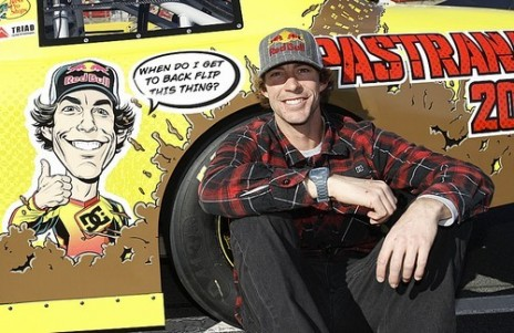 Nascar on Travis Pastrana And His Waltrip Racing Nascar Race Car