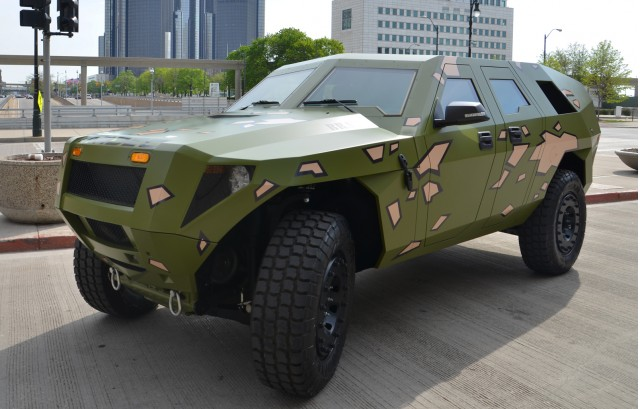 Army Diesel-Hybrid Concept: Twice The MPG, Just As Fierce ...