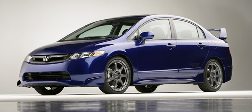 US to get 2008 Honda Civic Mugen Si in October