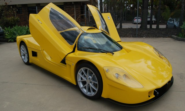 Varley evR450 electric supercar