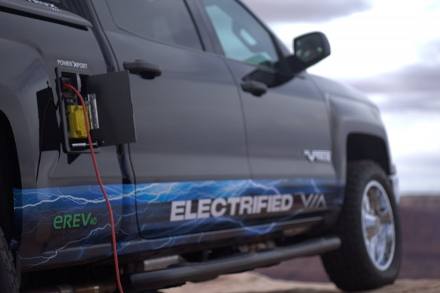 Via 39 s plug in hybrid trucks will sell 50 000 a year by for Electric vehicle motors for sale
