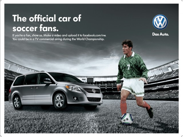 Volkswagen ad for the 2010 World Cup #8103165