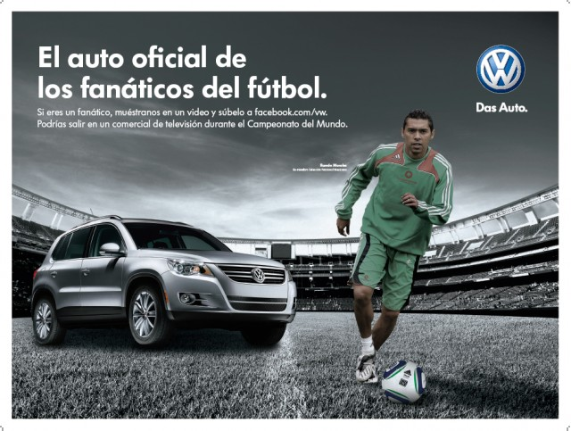 Volkswagen ad for the 2010 World Cup #7923470