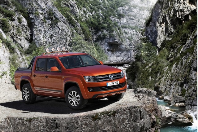 amarok r style concept is vw s attempt at building a. Black Bedroom Furniture Sets. Home Design Ideas