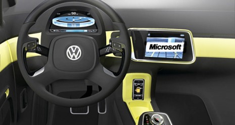 Volkswagen And Microsoft Working On New In Car Movie