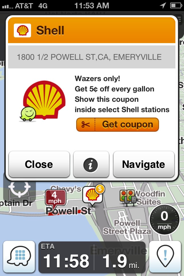 waze adds real time gas prices for summer travelers video. Black Bedroom Furniture Sets. Home Design Ideas