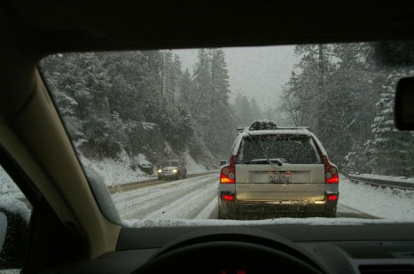 winter driving - by flickr user Hey Paul