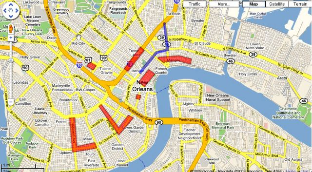 ... Map: An Interactive Guide To Navigating New Orleans On Fat Tuesday