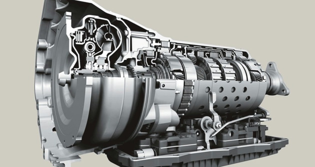 BMW claims the ZF eight-speed automatic can compete with dual-clutch transmissions on shift times