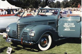 Convertible sedans such as this 1939 Plymouth rolled in the pre-war era.