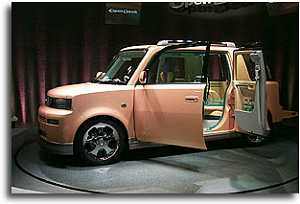 1999 Toyota open deck concept
