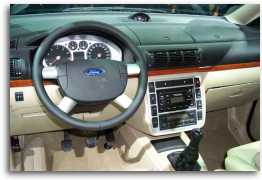 2000 Ford Galaxy Interior concept